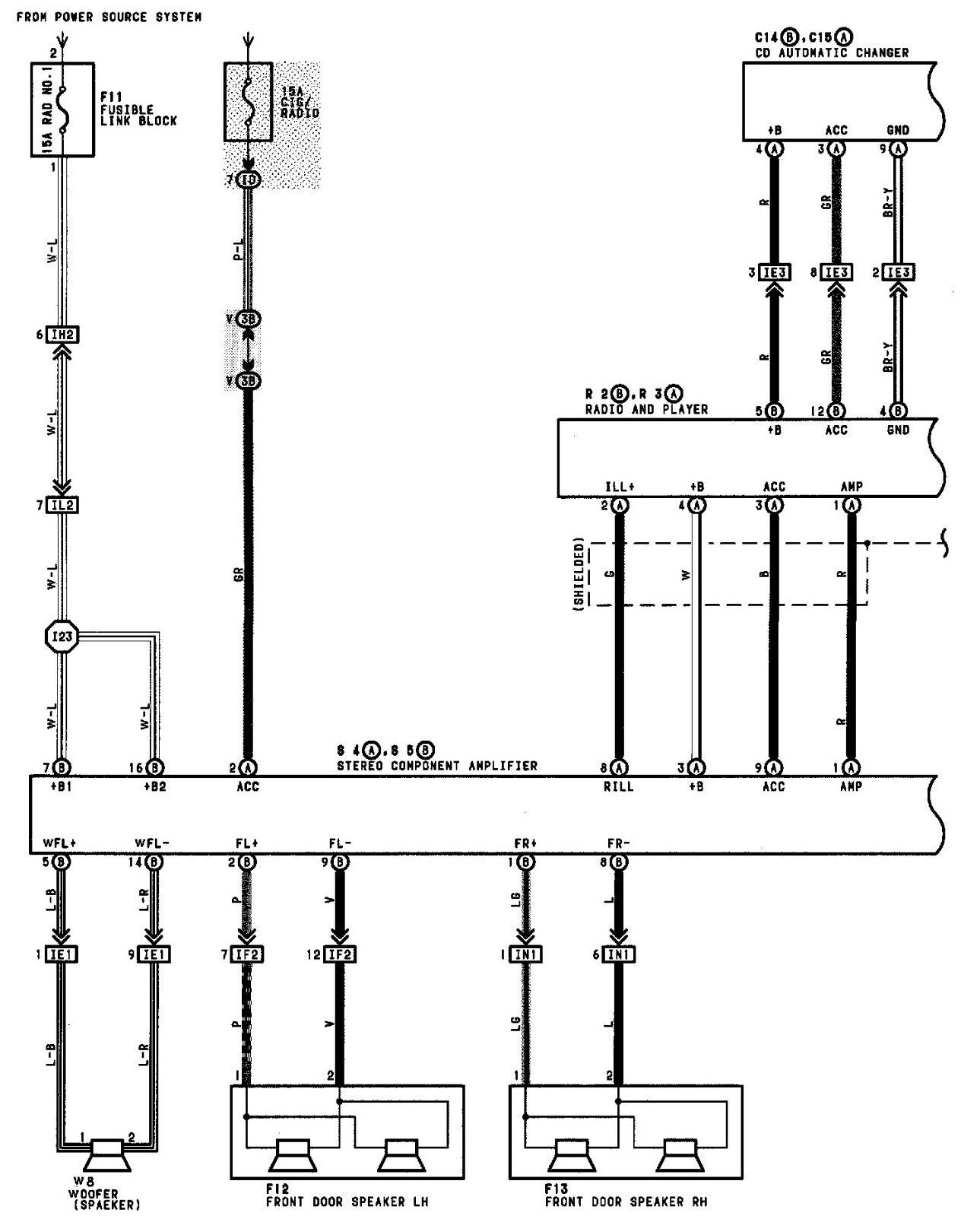 Bose Car Stereo Wiring Diagrams