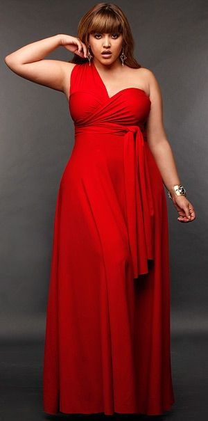 Rotes kleid about you