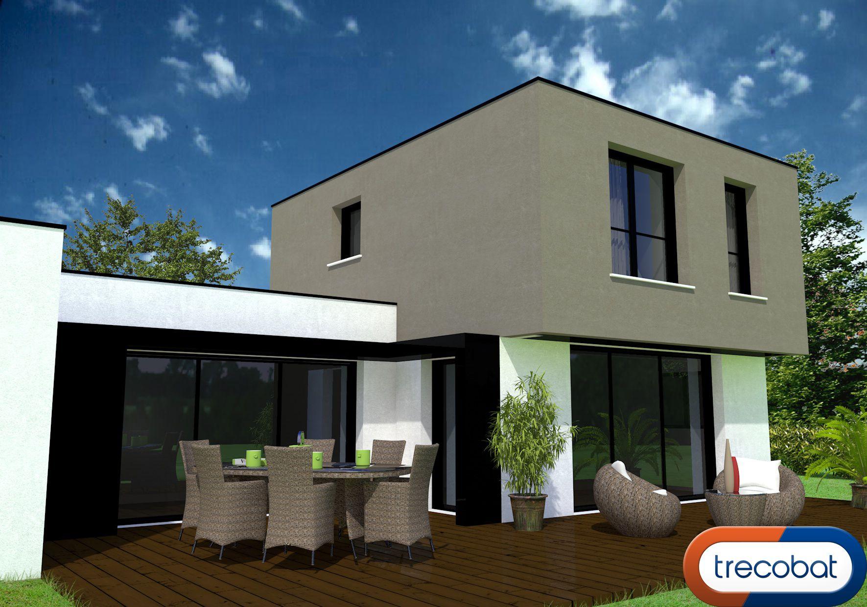 Un Avant Projet Moderne Des Maisons Trecobat Www Trecobat Fr Projet Maison Maison Moderne
