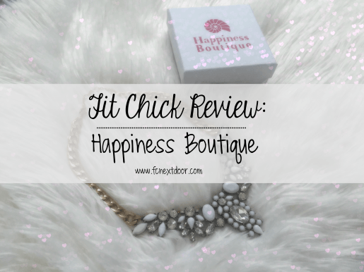 Fit Chick Review: Happiness Boutique - Snow White Statement Necklace