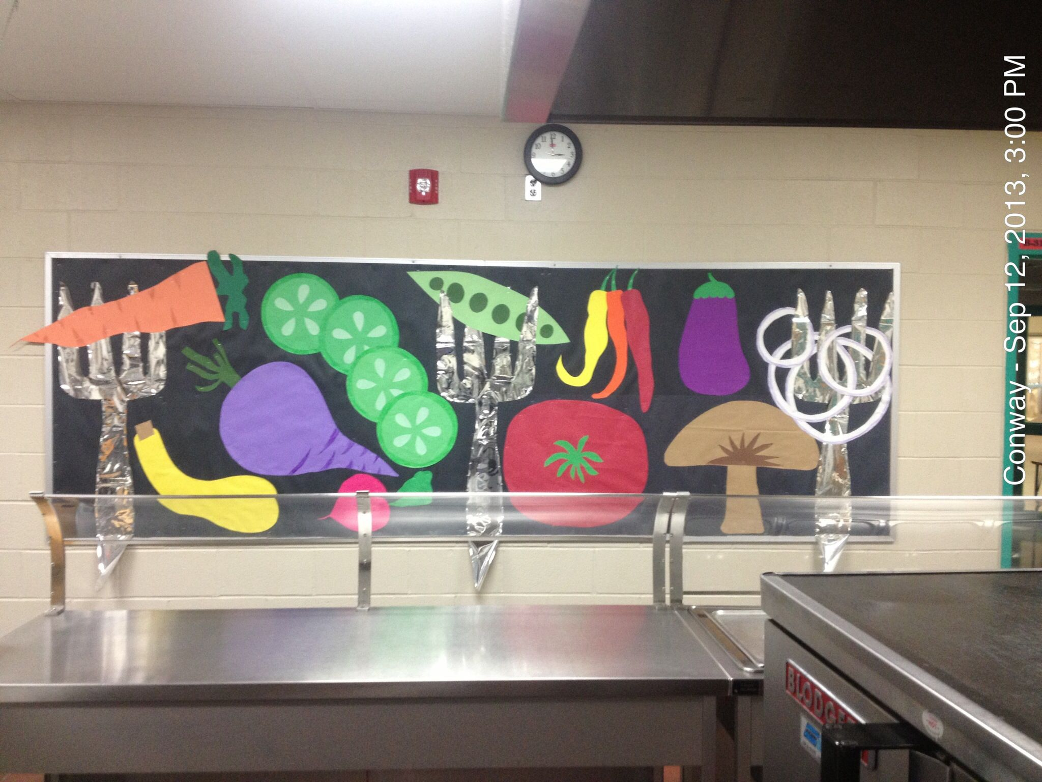 Lunch room bulletin board | created by me :) | Pinterest ...