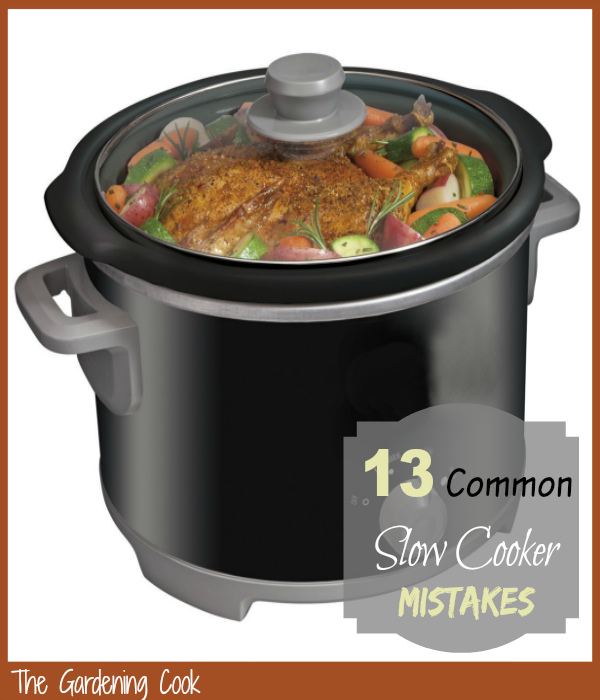 "A crock pot is not just a ""set and forget"" appliance.   See these common 13 slow cooker mistakes to get the most out of your slow cooker.  thegardeningcook.com."