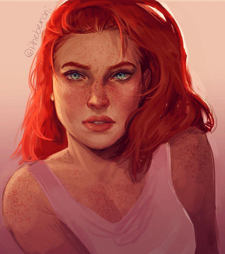 07b3235263085f53db45892965ffb916 Red Hair Blue Eyes Art Red Hair Jpg 736 833 Red Hair Cartoon Characters With Red Hair Anime Red Hair