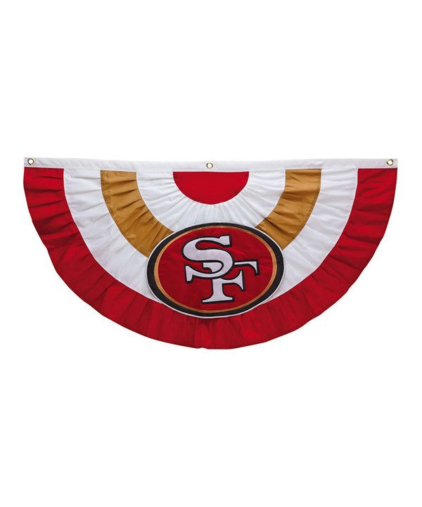 Take a look at this San Francisco 49ers Celebration Bunting on zulily today!