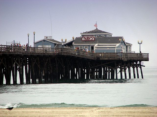 Ruby S Restaurant Seal Beach Pier Ca By Ken Harrell Been There I Love It