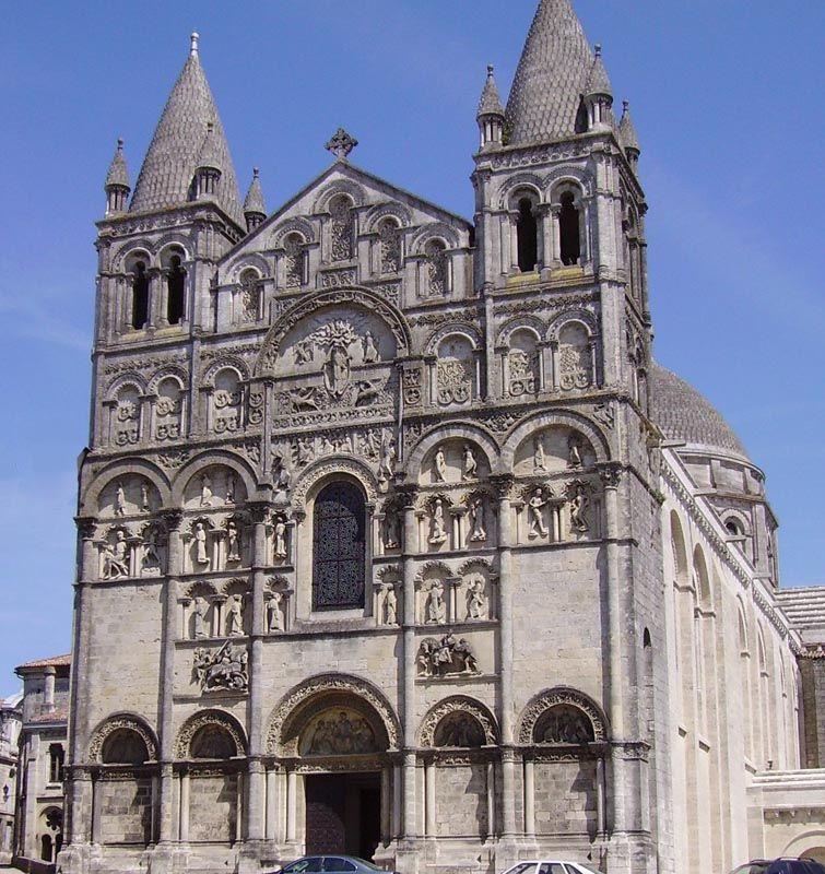 Cathédrale Saint Pierre Du0027Angoulême