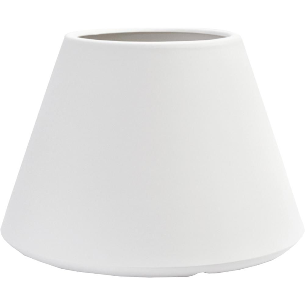 tall vase lighting garden. White Plastic Tall Round Vase Lighting Garden