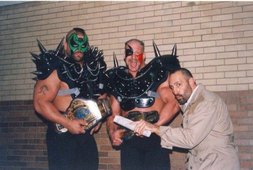 The Road Warriors as NWA World Tag Team Champions in 1988 | Nwa ...
