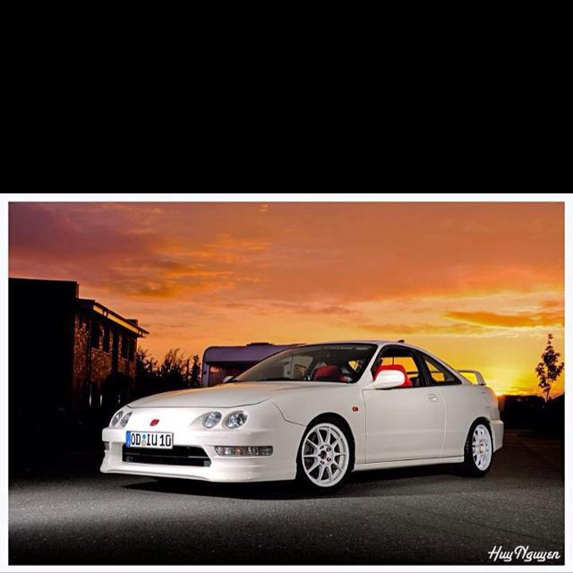 DC2 Acura Integra My First Integras Black My Next One Will