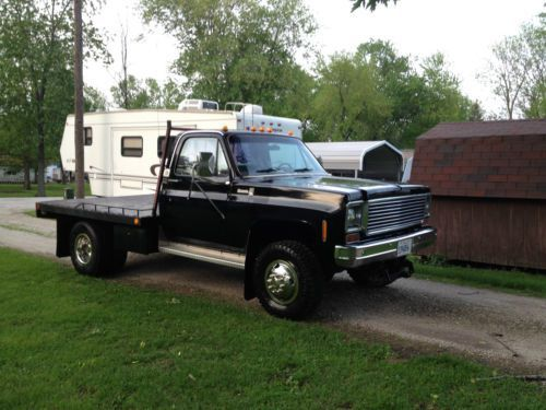 1978 Chevy Flatbed Truck in Chevy K30 4x4 Dually for Sale | Chevy