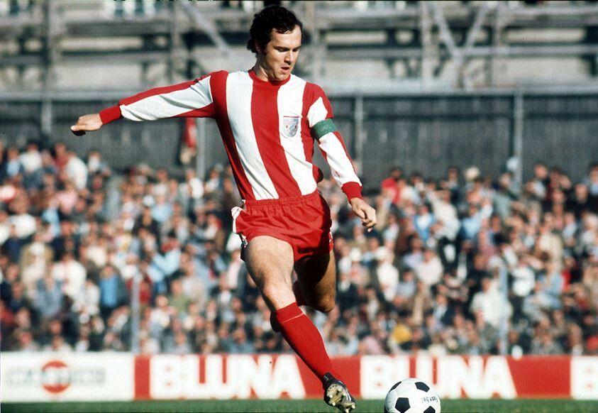 Franz Beckenbauer wearing my favorite Bayern kit! | ベッケンバウアー