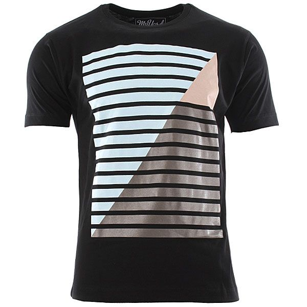 My Yard Line Up T-Shirt - Black
