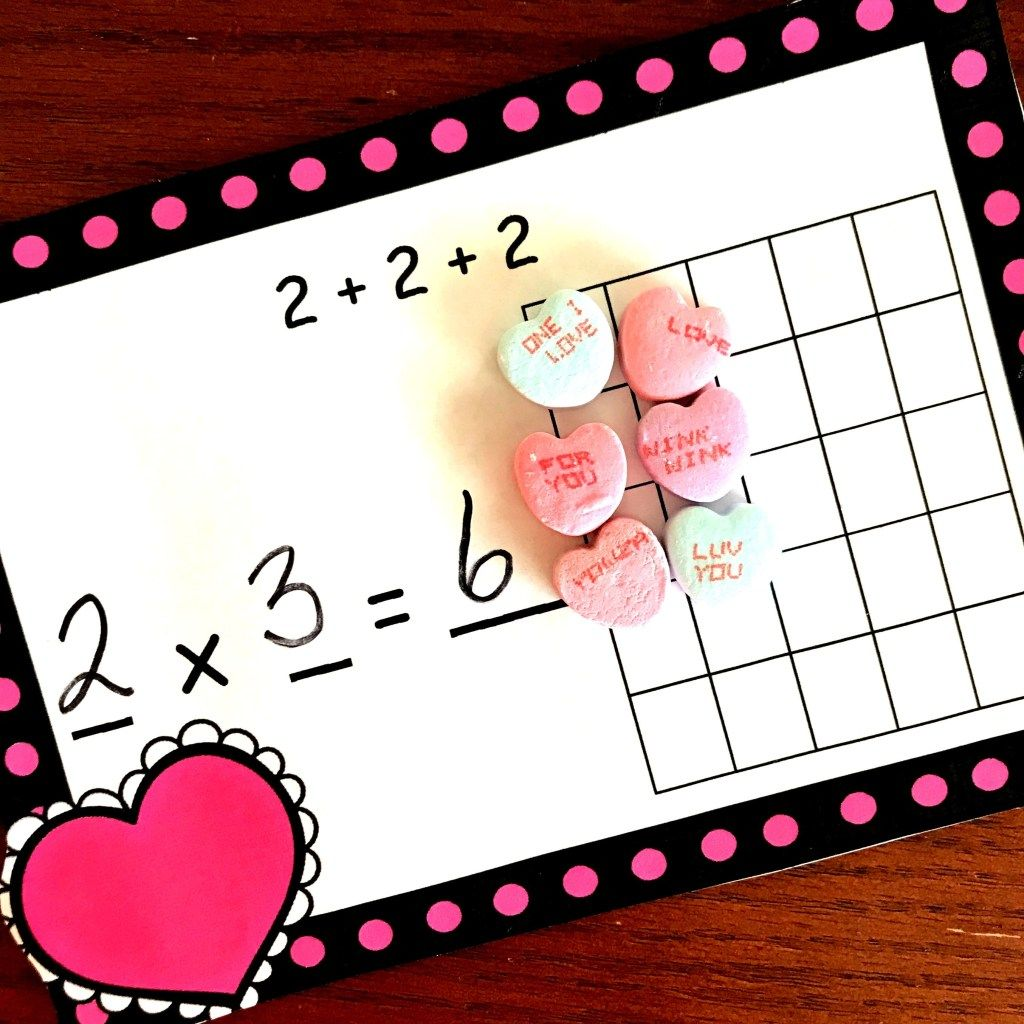 Free Hands On Multiplication As Repeated Addition Worksheet