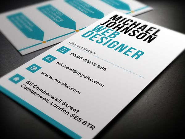 Web Designer Business Card On Behance Business Card Design