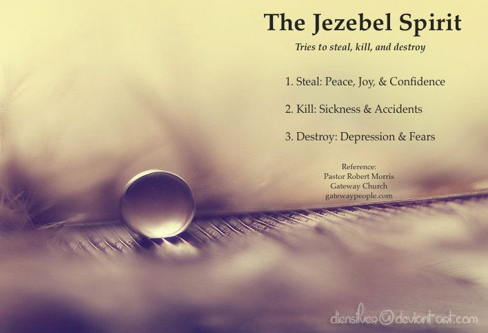 The Jezebel Spirit by Pastor Robert Morris | Jesus | Quotes