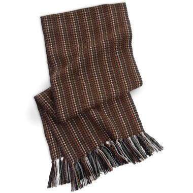 The Gentleman's Irish Tweed Scarf - Hammacher Schlemmer