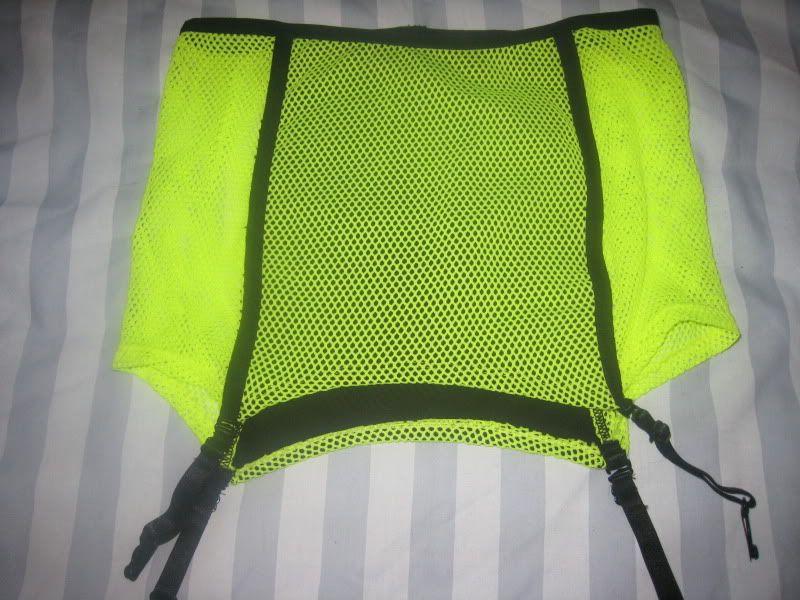 """LIP SERVICE Fash-Ist Fishnet """"Ultra Sexy"""" mini skirt #48-155"""