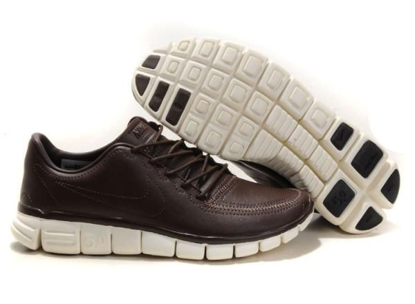 Homme Chaussure Cuir Marron Nike Free 5.0 V4