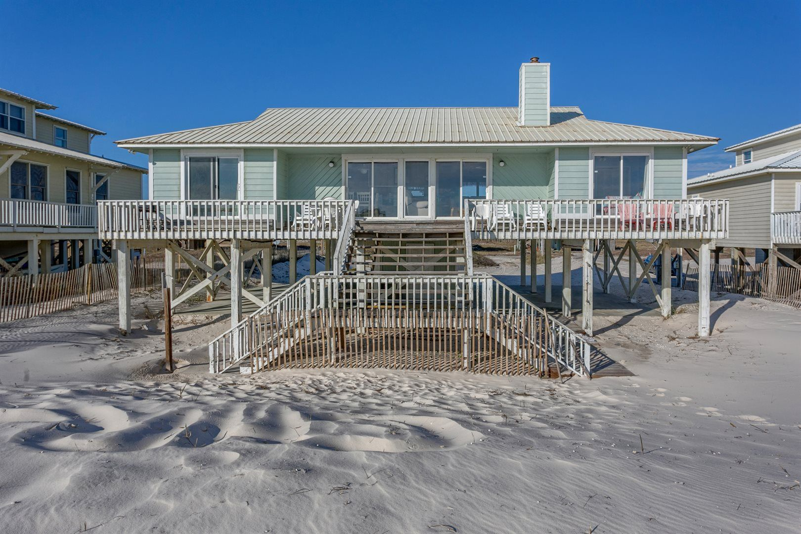 Barefoot beach fort vacation house rental meyer