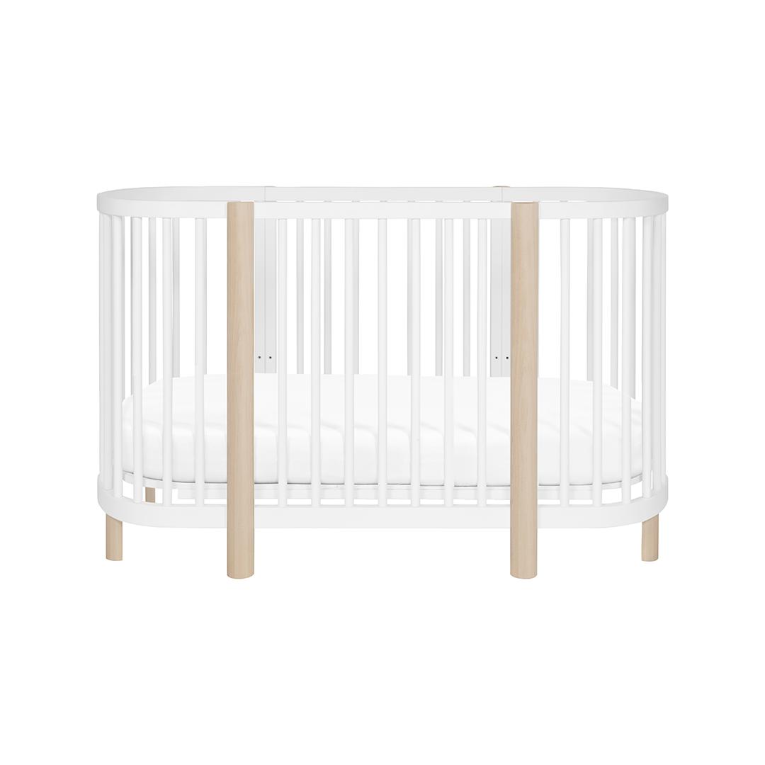 Hula Convertible Oval Crib | Oval crib, Baby crib designs ...