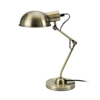 Lampe De Bureau A Poser Dore Tea Leroy Merlin Lampe De Bureau Lampe Gris Argent