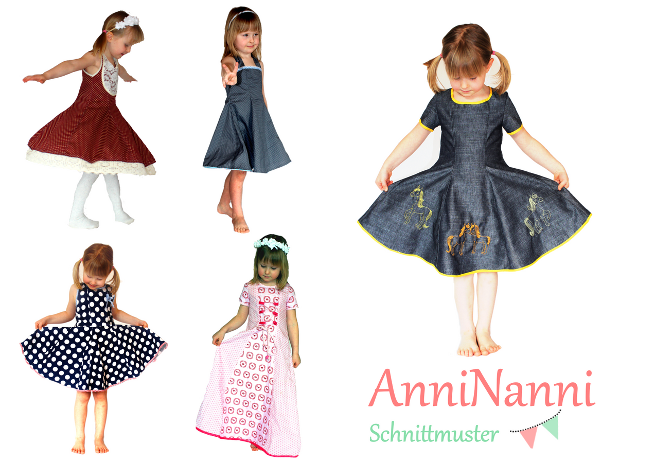 Photo of Sewing pattern AnniNanni girls dream by Anni Nanni