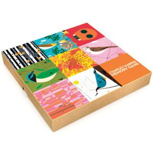 Charley Harper Memory Game now featured on Fab.