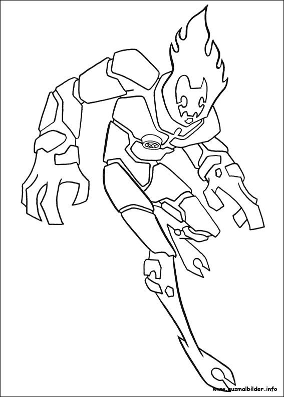 find this pin and more on ben 10 ausmalbilder free printable ben 10 coloring pages