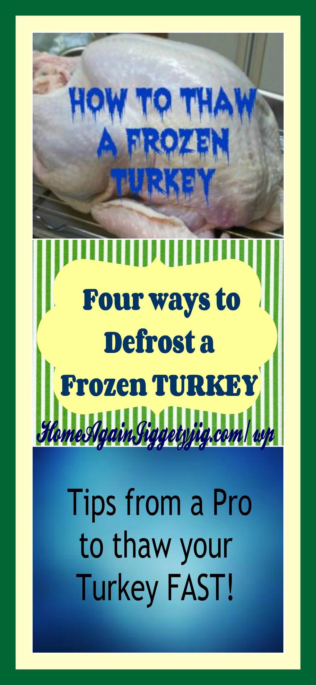 How To Defrost A Frozen Turkey Home Again Jiggety Jig Frozen Turkey Thawing Turkey Cooking A Frozen Turkey,Tempura Batter Recipe Vegan