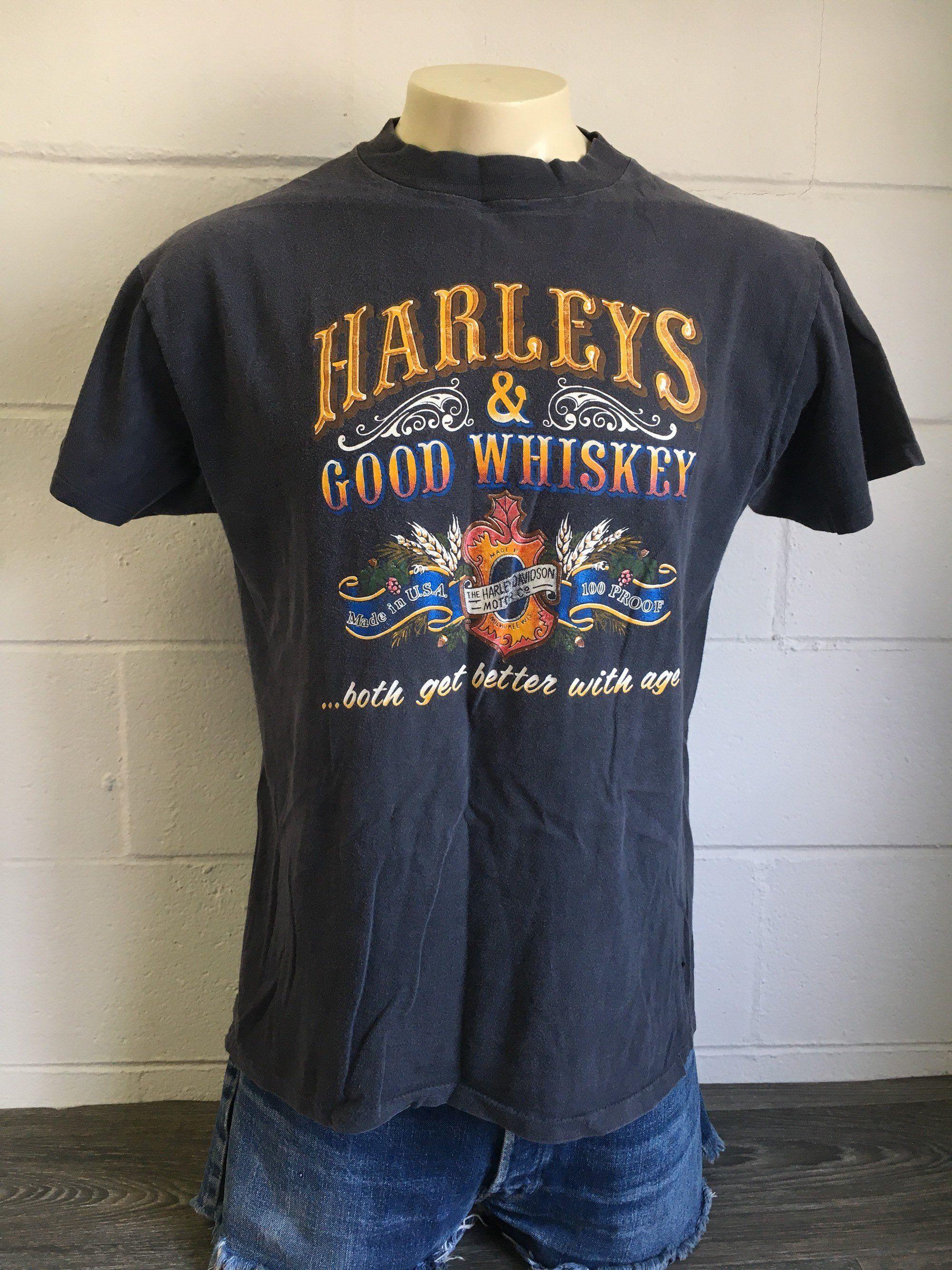 Vintage Harley Shirt 80 S Harley Davidson 3d Emblem Harley Shirts Vintage Harley Harley Davidson T Shirts