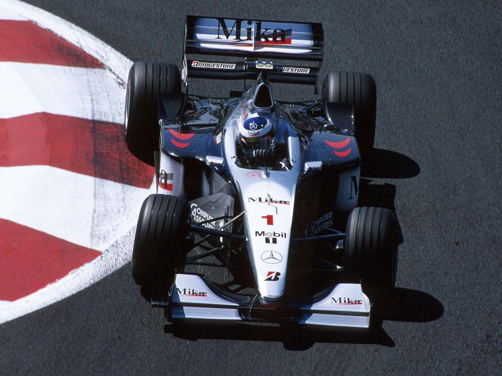 Mika Hakkinen Mclaren 1999 Mclaren Mercedes Benz F1 Team