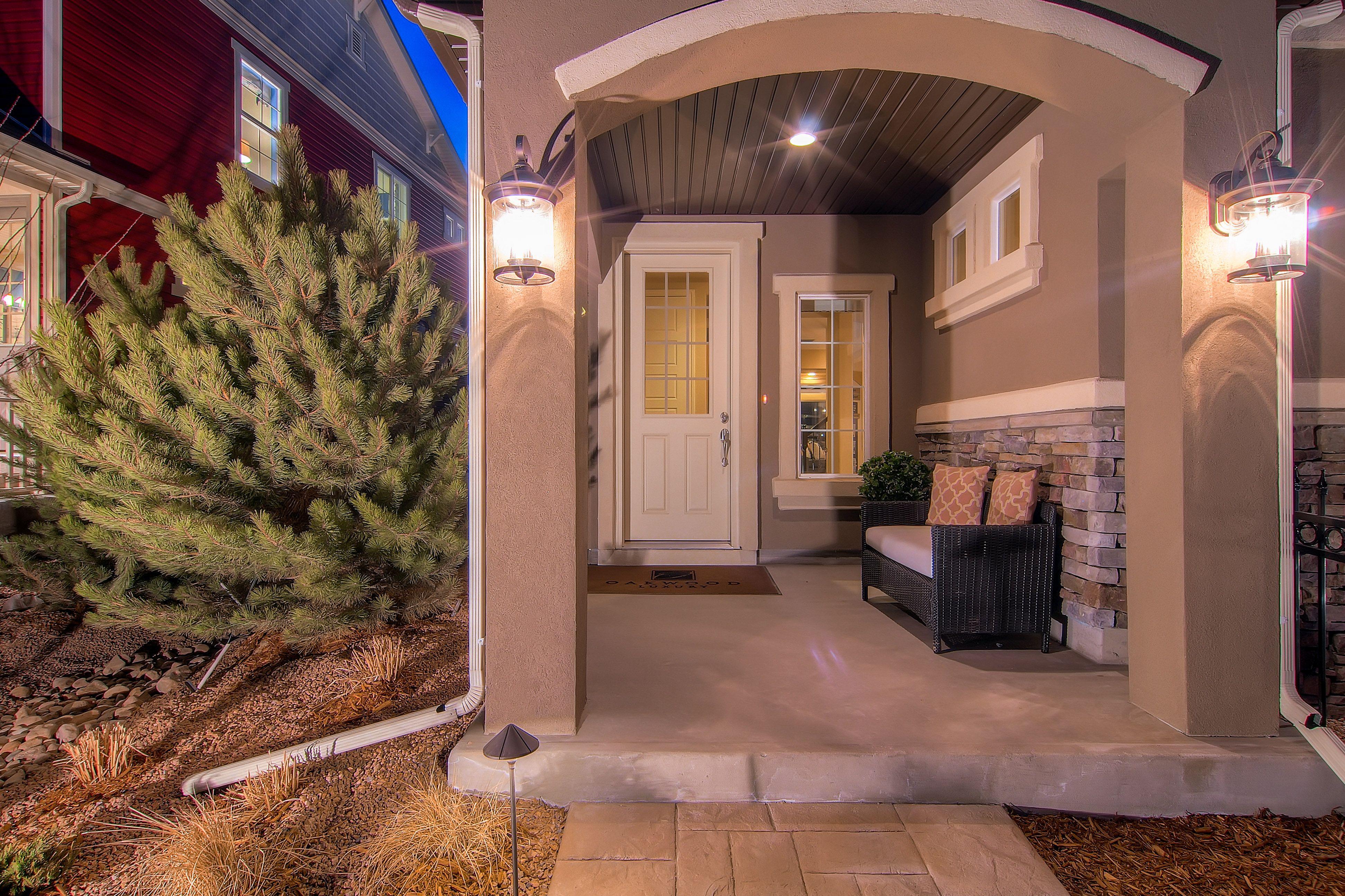 Rio Grande Model - Front Entry - Oakwood Homes Banning Lewis Ranch ...