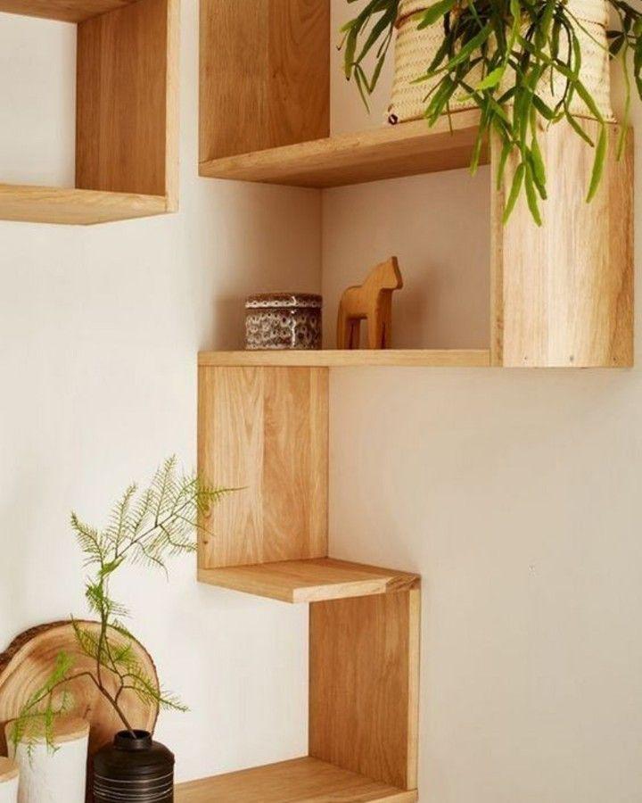 Amazing Corner Shelves Design Ideas For Your Living Room Corner Decor Corner Shelf Design Diy Corner Shelf