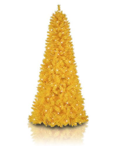 Yellow Christmas Tree Basics Collection Christmas Tree Drawing Christmas Tree Decorating Themes Artificial Christmas Tree