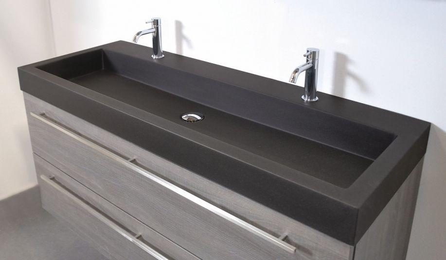 Ongekend Schuin Dak Eenvoudig Badkamermeubel Dubbele Wastafel Concept (met RK-73