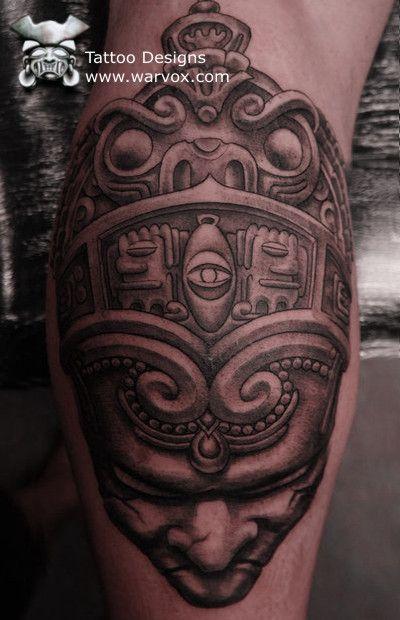 073624d8b Aztec, Mayan, Inca, PreHispanic Tattoo Designs – Instant Download ...
