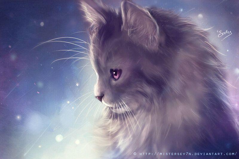 Kitten Painting By Mistersev7n Deviantart Com On Deviantart