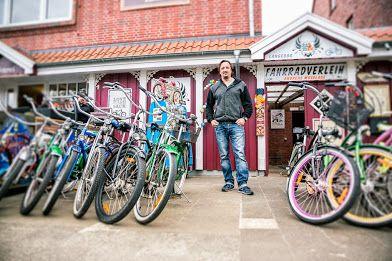Netter Fahrradverleih Auf Langeoog Langeoog Verleih Und Fahrrad