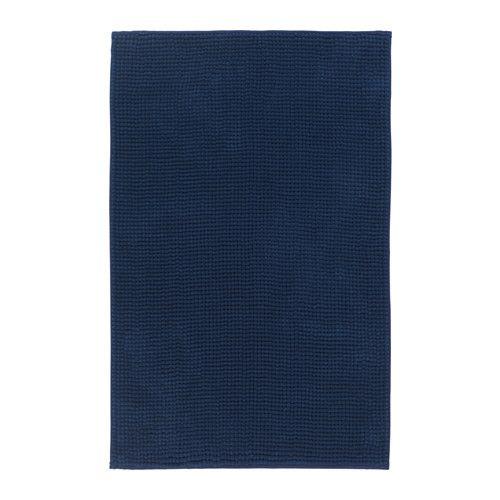 TOFTBO Tappeto per bagno, blu scuro | Bath, Ikea shopping and Dorm ...