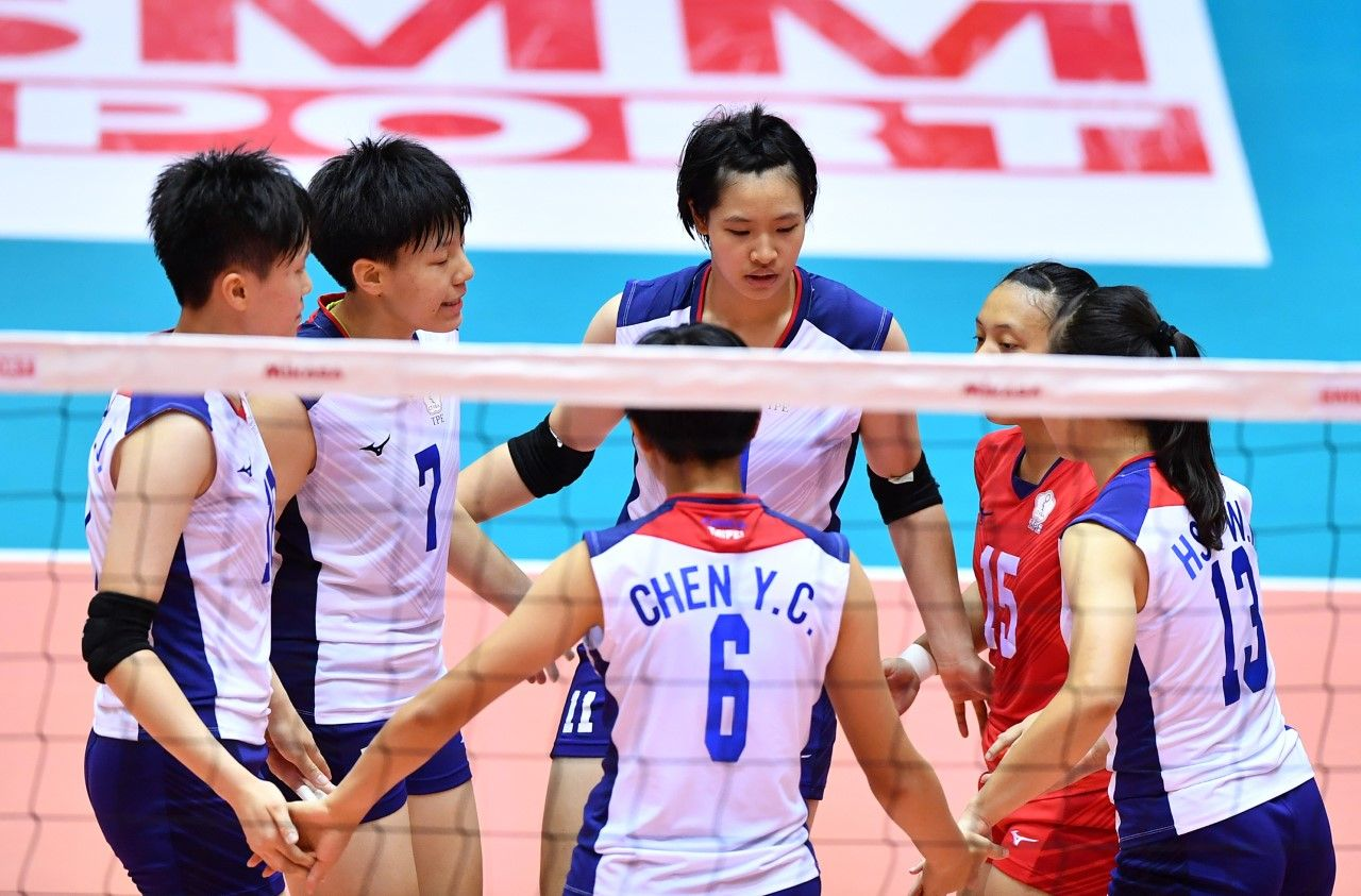 Asian Women S U17 Championship Quarter Final Lineup Completed Asian Woman Volleyball Lineup