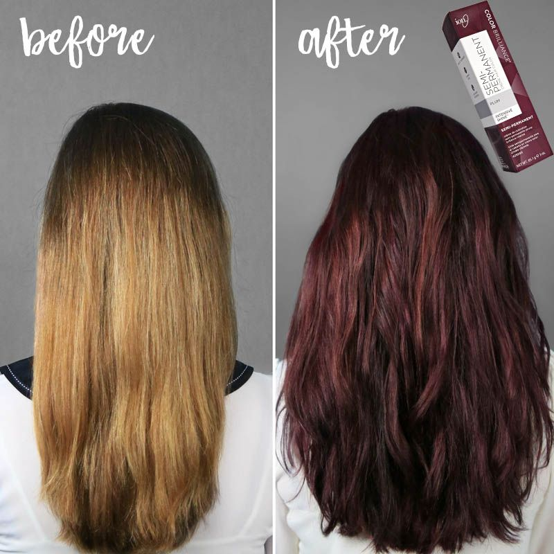 Our Brand New Ion Color Brilliance Semi Permanent Creme In Plum Is