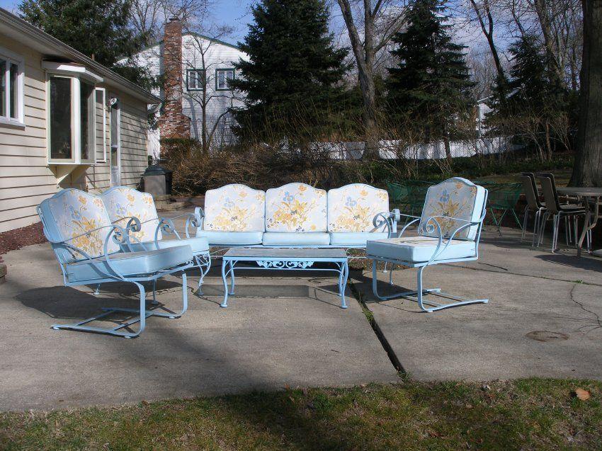 Woodard/Meadowcraft | Vintage patio, Vintage patio ...