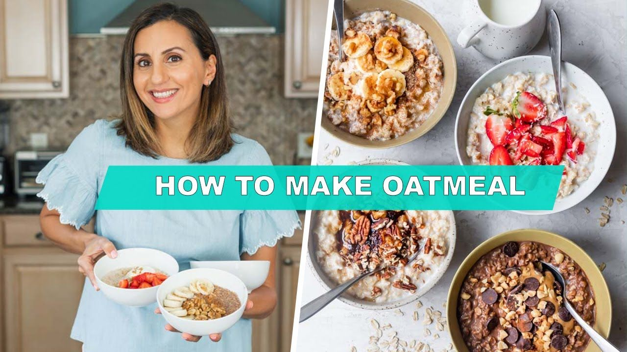 How to make oatmeal stovetop microwave in 2020 food