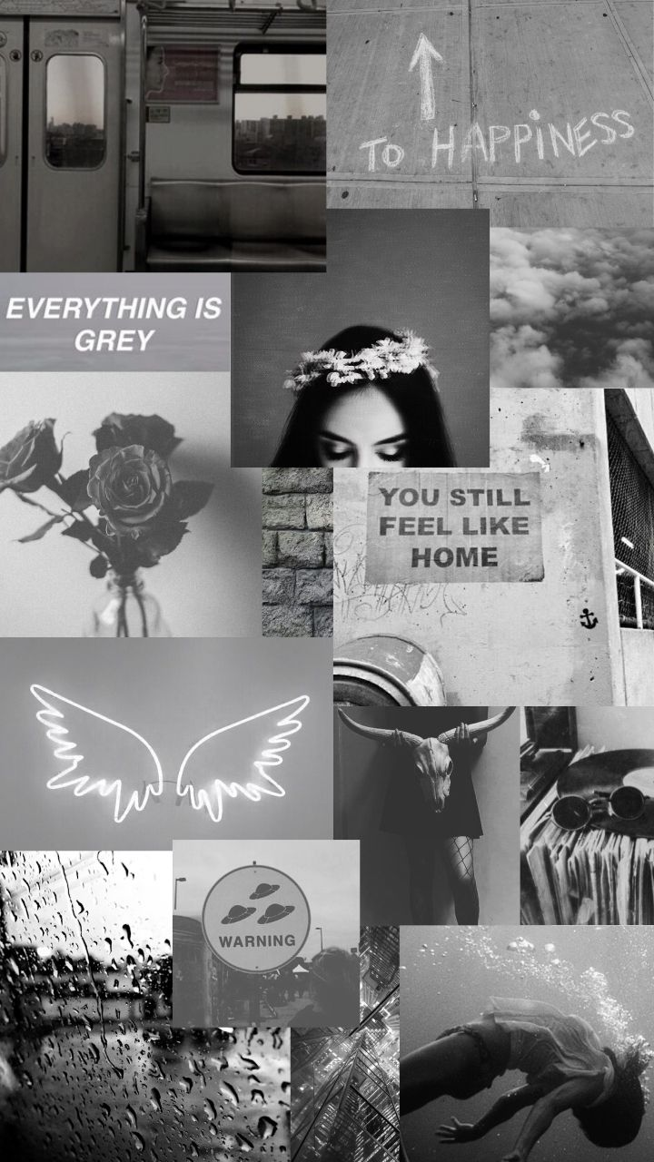 Black And Grey Aesthetic Background