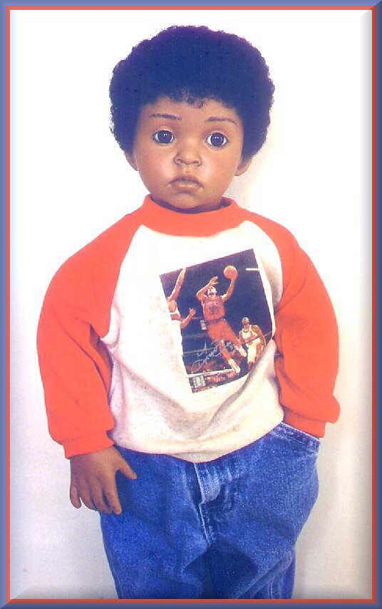 Flossie head used for a boy, Donna RuBert, 24 Size, Older Child/Teen Series
