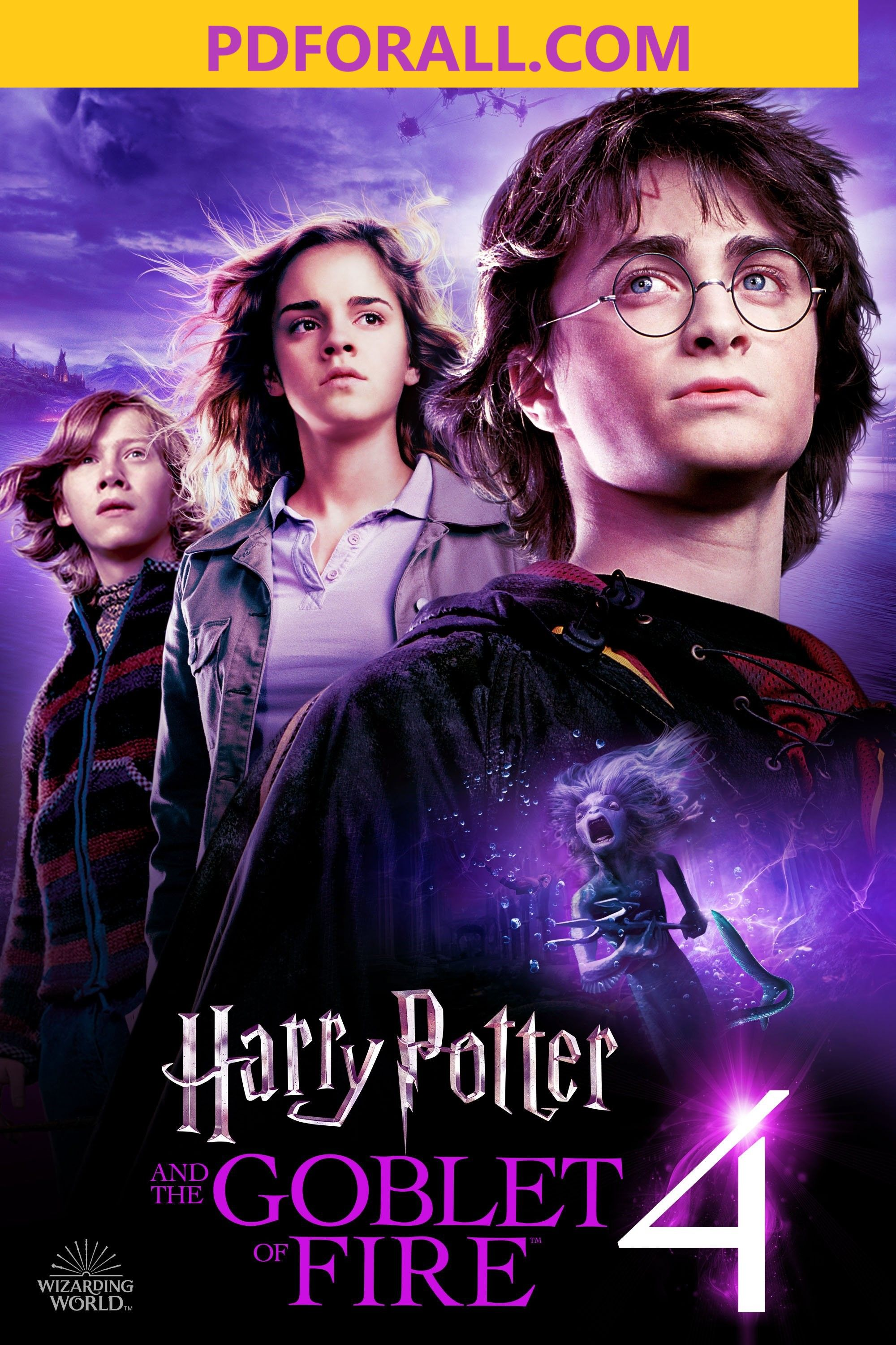 Harry Potter And The Goblet Of Fire Pdf Harry Potter Goblet Harry Potter Movies Harry Potter Poster