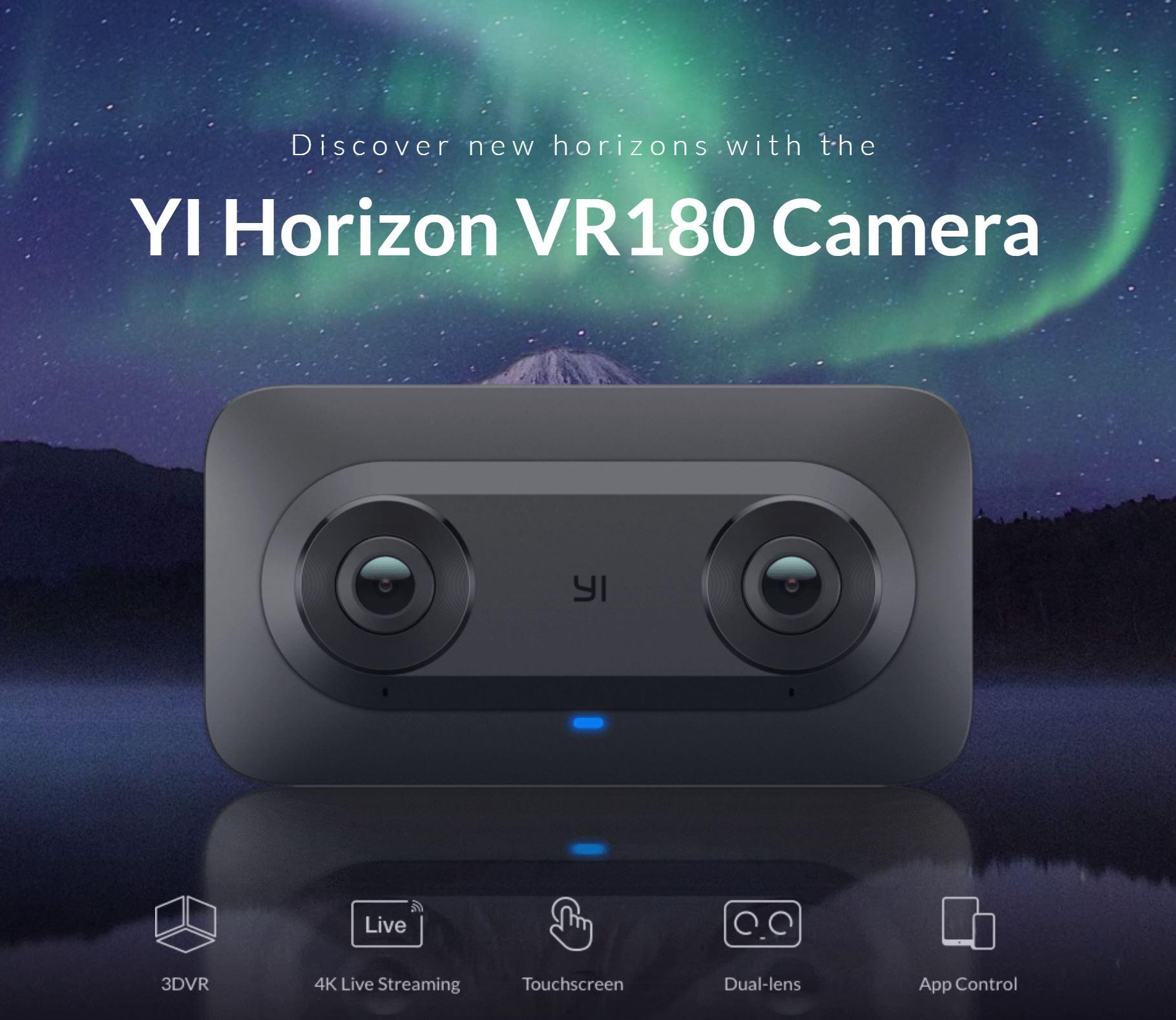 Google and YI Technology Announce new YI Horizon VR180