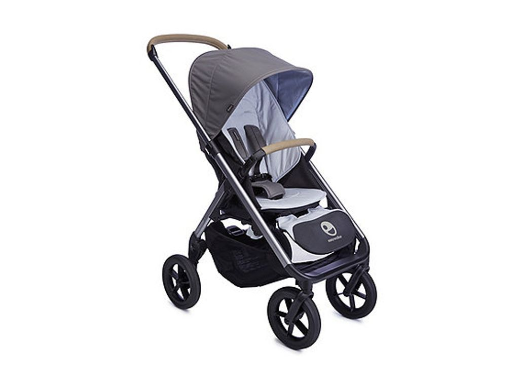 Kinderwagen Easywalker Duo Easywalker Mosey Single Pushchair Pebble Grey Baby