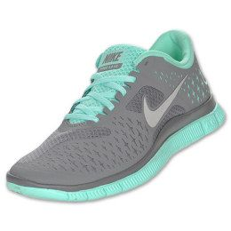 huge selection of 1f115 5f55c Nike Free Run 4.0 - Womens - Cool Grey Reflect Silver Tropical Twist
