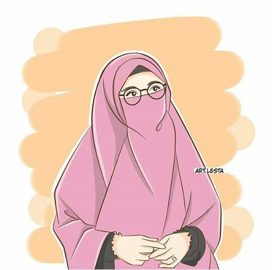 150 Gambar Kartun Muslimah Berkacamata Cantik Sedih Terlengkap Kartun Animasi Ilustrasi Karakter